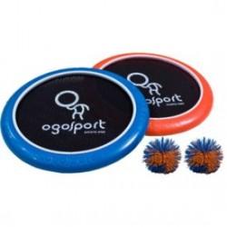 Ogo Sport Set,2xOgo-Scheiben 30cm+Ball