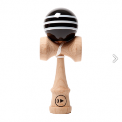 Kendama PRO II K TRIPLE STRIPES - BLACK DELICIOUS