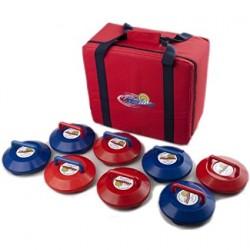 Kurling Curlingsteine für Wettkampf, mit Tragetasche