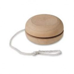 Yo-Yo aus Holz natur